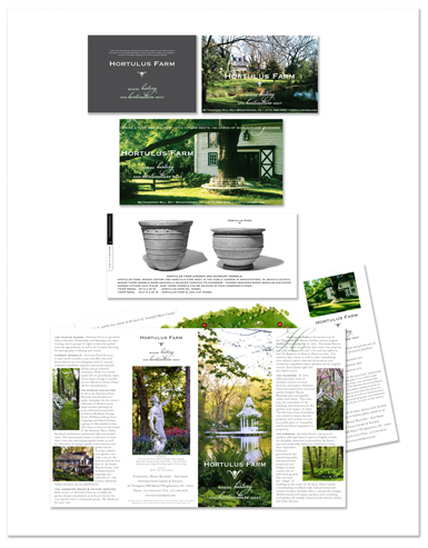 Jenifer Doherty - Hortulus Farms, Wrightstown, PA - Print Marketing