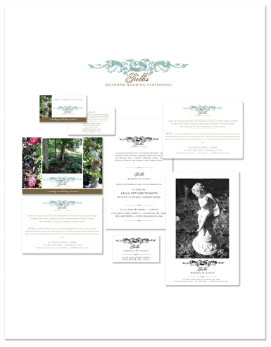 Jenifer Doherty - Trellis Outdoor Wedding Ceremonies, Stillwater, MN - Print Marketing