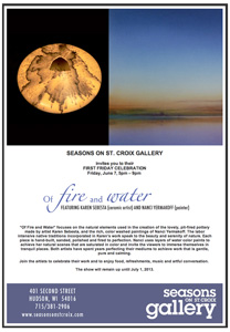 Seasons on St. Croix Gallery - Hudson, WI - monthly email marketing