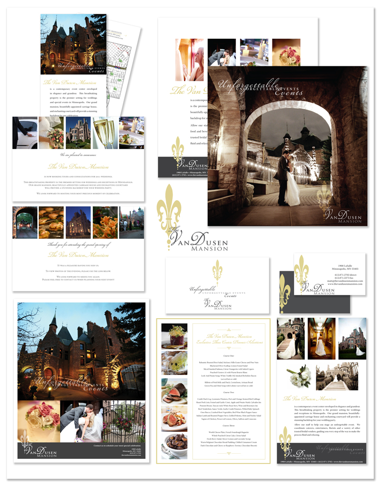 Jenifer Doherty - The Van Dusen Mansion, Minneapolis, MN - Print Marketing